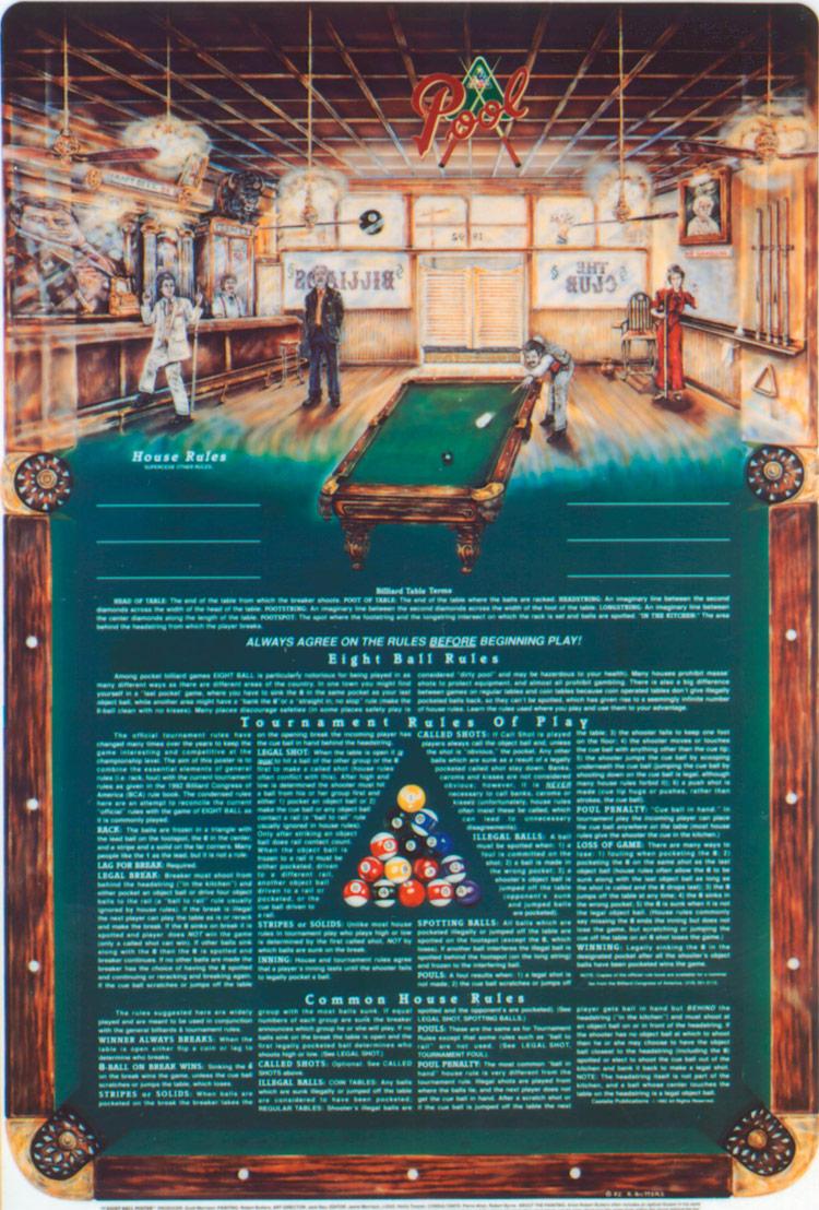 The Eight Ball Poster Tm Castaliapub Com Music Posters