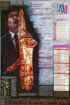The Saxophone Poster (TM) - Product Image
