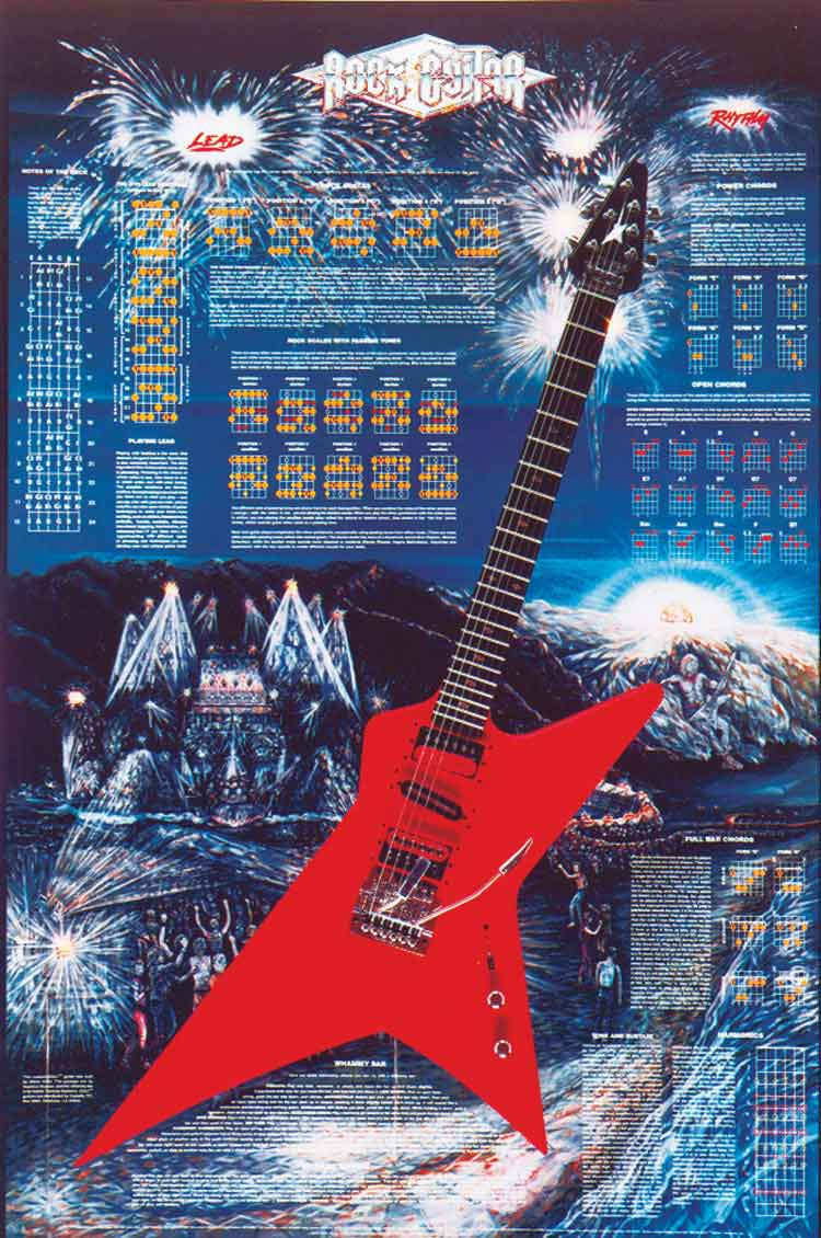 Chords electric guitar