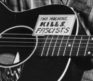 Woodie Guthrie's guitar
