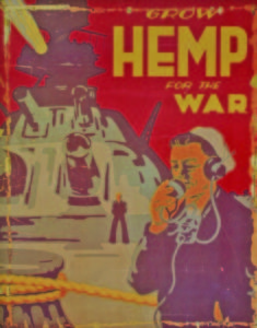 original Grow Hemp for the War poster. Unrestored.