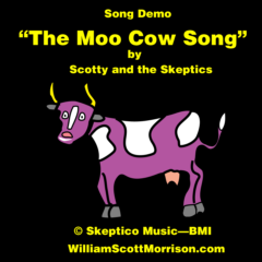 """The Moo Cow Song"" --song demo"