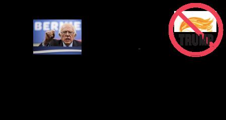 "Bernie Says: ""Don't Be a TRUMPiE!"""